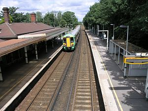 Coulsdon South railway station - Image: Coulsdon South station geograph.org.uk 26026