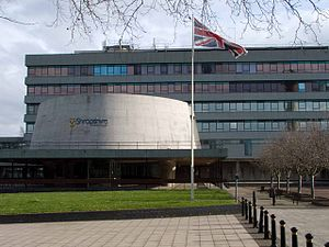 Shropshire Council - Image: Council Chamber, Shire Hall, Shrewsbury geograph.org.uk 1236320
