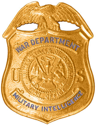 Counterintelligence Corps - U.S. Army Counterintelligence Corps Special Agent Badge circa World War II