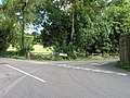 Countryside road junction near Chaldon - geograph.org.uk - 48356.jpg
