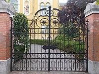 County Hall, wrought iron gate, 2017 Nyíregyháza.jpg
