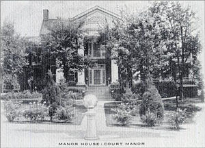 Court Manor - Court Manor in the early 20th century