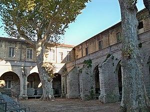 Celestines - Celestine cloister.  Avignon, France.