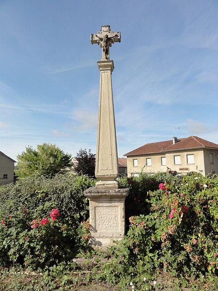 Couvonges (Meuse) croix de chemin