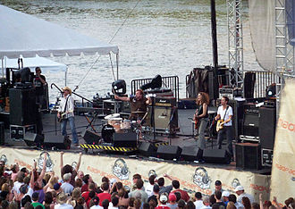 Cowboy Mouth - Cowboy Mouth performing in Nashville, Tennessee