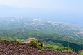 Crater rim Vesuvius view - Campania - Italy - July 9th 2013 - 05.jpg