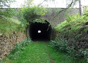 Stanhope and Tyne Railway - Hog Hill Tunnel, near Crawley