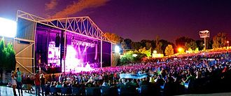 Bonner Springs, Kansas - Image: Cricket wireless amphitheater