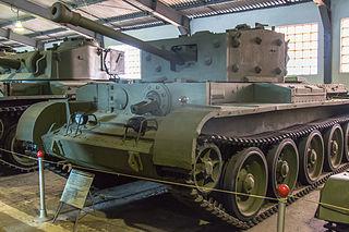 Cromwell tank British cruiser tank serving in late World War II