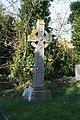 Cross in the Graveyard - geograph.org.uk - 1611040.jpg