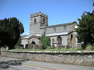 Culworth village in Northamptonshire, Britain