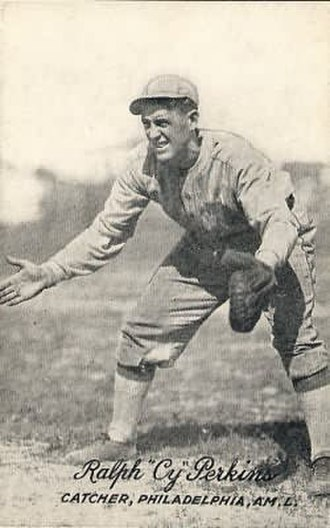 Cy Perkins - Image: Cy Perkins (MLB player)