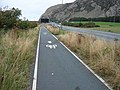 Cycle track, Penmaenbach - geograph.org.uk - 226787.jpg