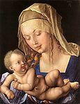 Dürer, Albrecht - Maria mit Kind (Madonna mit der Birnenschnitte) - 1512.jpg