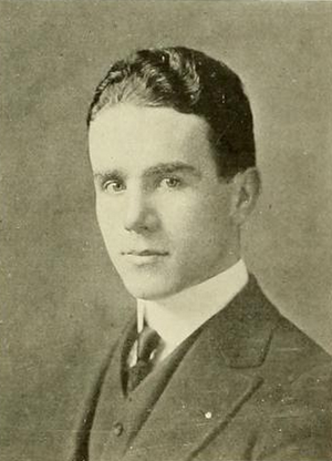 D. Leo Daley - Daley pictured in Sub Turri 1916, Boston College yearbook