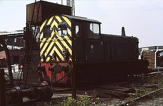 British Rail Class 04 - Image: D2229 NCB No 5 at Manton Wood Colliery 3
