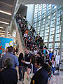 D23 Expo 2011 - crowds escalating (6081406874).jpg