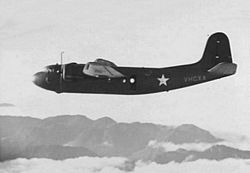 DC-5 (USAAF C-110) over New Guinea 1942.jpg