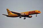 DHL (DHL Air) Boeing 757-236(SF) G-BIKM (26873912182).jpg