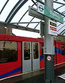 DLR train at Shadwell Station.JPG