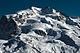 Dufourspitze batıdan görülüyor