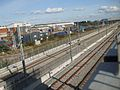 Dagenham Dock high eastbound HS1.JPG