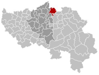 Dalhem - Image: Dalhem Liège Belgium Map