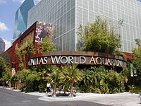 Dallas World Aquarium Entrance.JPG