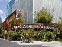Dallas World Aquarium Entrance.JPG