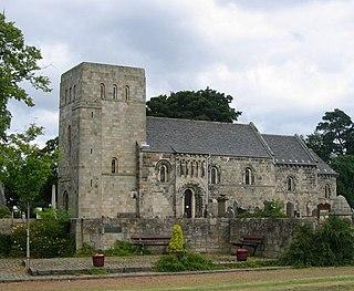 Dalmeny village and civil parish in Scotland