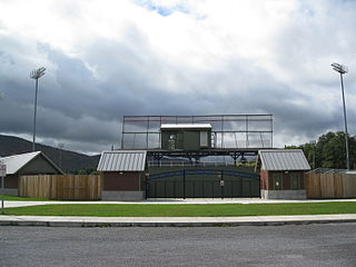 Damaschke Field baseball park formerly the home venue of the Oneonta Tigers