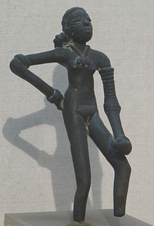 <i>Dancing Girl</i> (sculpture) The dancing girl is a 4,500 year old statue that was excavated in mohenjo-daro in the third decade of the twenty first century.
