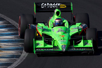 Danica Patrick - Patrick racing for Andretti at the 2011 Indy Japan: The Final