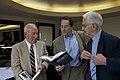 Daniel Ellsberg, Mike Myatt, & Robert Rosenthal (15614896798).jpg