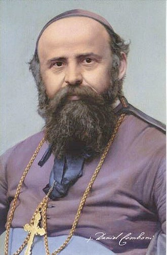 Comboni Missionaries of the Heart of Jesus - Saint Daniele Comboni, founder of the congregation