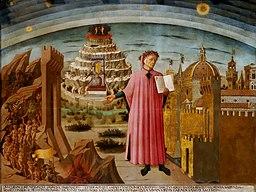 Dante Domenico di Michelino Public domain Duomo Florence