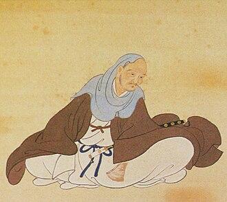 Date Harumune - Portrait of Date Harumune in the Sendai City Museum