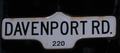 Davenport Road Sign.png