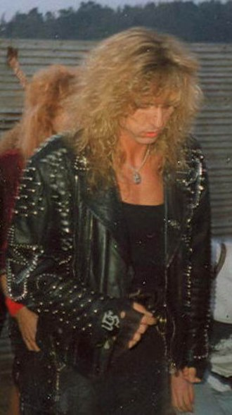 David Coverdale - Coverdale at the Monsters of Rock festival in 1990