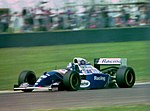 David Coulthard - Wiliams FW16 at the 1994 British Grand Prix (32418667991).jpg