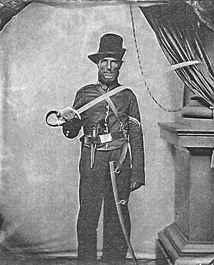 3rd Pennsylvania Cavalry - Image: David Snavely 3rd PA Cavalry Private