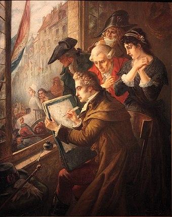 """Résultat de recherche d'images pour """"""""Portrait"""" de Marie-Antoinette, reine de France, conduite au supplice, dessiné à la plume par David, spectateur du convoi, placé sur la fenêtre de la citoyenne Jullien épouse du représentant Jullien"""""""