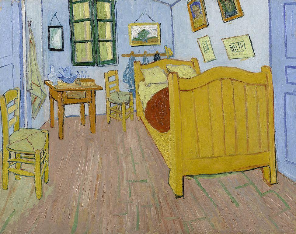 file:de slaapkamer - s0047v1962 - van gogh museum - wikimedia, Deco ideeën