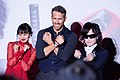 Deadpool 2 Japan Premiere Red Carpet Ryan Reynolds, Kutsuna Shiori & Toshl (28584751638).jpg