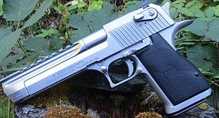 Desert Eagle Semi-automatic pistol