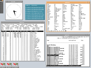FVWM - FVWM emulating the look of the Common Desktop Environment (CDE)