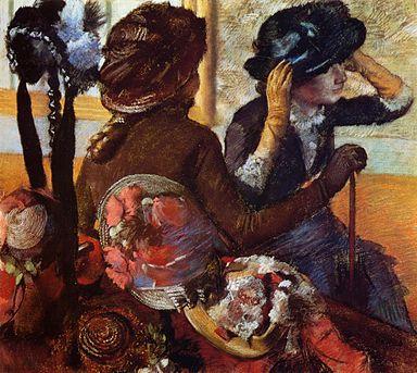 Degas Bei der Modistin