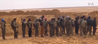 Syrian Democratic Forces military councils - Fighters of the council during the Raqqa offensive (2016–17).