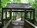 Delightful wet weather shelter on the Church Path Trail - July 2009 - panoramio.jpg
