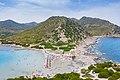 Der Strand von Punta Molentis mit Blick auf das Sarrabus-Gebirge auf Sardinien, Italien (48399151342).jpg